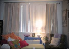 white vertical blinds mied with grommet loose curtain ikea and curtains together