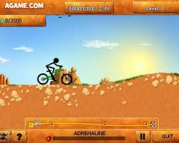 Stickman Downhill Hacked Game Virtual Bike Games Play Bmx