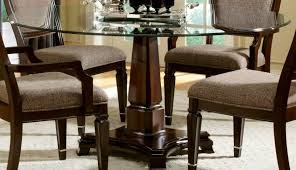 set sets surprising glass top dining table chairs inch retro round room and rooms excellent designs