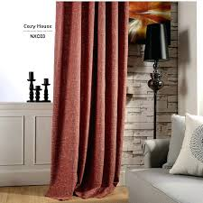 jute curtains modern solid linen curtains for living room blackout ds for bedroom red jute curtain