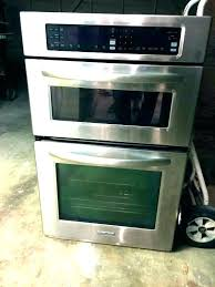 wall oven microwave combo reviews built in convection with e self cleaning frigidaire professional 27 ov