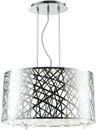 chrome drum chandelier worldwide lighting 4 light chrome oval drum chandelier with clear crystal shade chrome