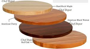 awesome john boos butcher blocks portable chef demonstration table pertaining to 36 inch round wood table top ordinary