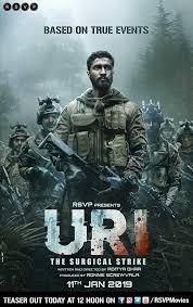Uri The Surgical Strike 2019 720p Hindi PreDVDRip x264