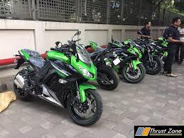 kawasaki india cbu motorcycle prices list here lots of ups and down