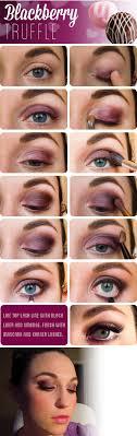 blackberry truffle eye tutorial smokyeye makeup datenight valentinesday howto