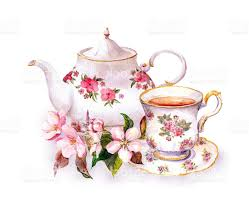 vintage tea cups vector. Simple Tea Best HD Tea Cup Painting Vector Design Inside Vintage Cups