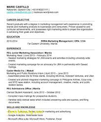 Career Objective For Fresh Graduate Best Of Resume Objective Sample