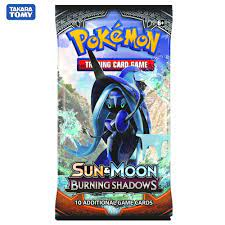 324Pcs/box Pokemon Cards TCG: Sun & Moon Burning Shadows Booster Box  Collectible Trading Card Game High-quality cards ราคาที่ดีที่สุด