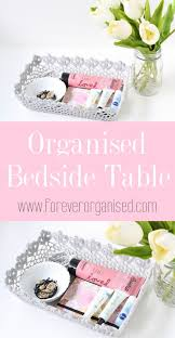 ideas bedside tables pinterest night: i had to be a little creative when coming up with an organising solution for my