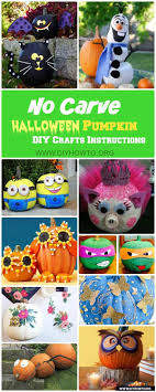 17 best images about halloween ideas jasmine no carve halloween pumpkin decoration crafts instructions