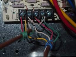 york hvac control board , thermostat, ac wiring connection thermostat wiring honeywell at York Thermostat Wiring