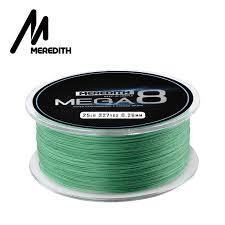 Meredith Mega8 <b>Fishing</b> Line 300M 8 Strands Braided <b>Fishing</b> Line ...