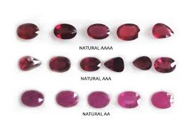 Sapphire Rating Chart A Buyers Guide To Ruby Rings Natural Aaaa Vs Aaa Vs Aa