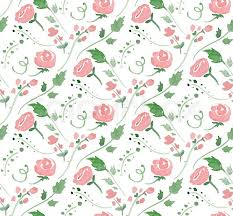 Transparent Pattern Cool Vector Illustration Seamless Pattern With Watercolor Flowers