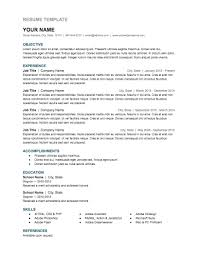Free Google Resume Templates 47 Images Resume Templates Google