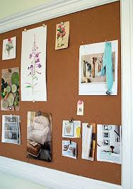 office cork boards. How To Make A Framed Bulletin Board - The Happy Housewife™ :: Home Management Office Cork Boards