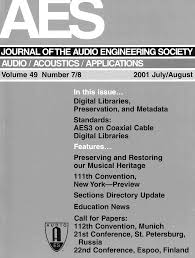 The title or artist are incorrect the lyrics of the song is wrong the lyrics is incomplete the timing of the lyrics is not right the video has poor quality or is not official the difficulty level of the lyrics is not suitable others. Aes E Library Complete Journal Volume 49 Issue 7 8
