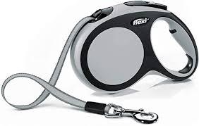 <b>Flexi New Comfort</b> Retractable <b>Tape</b> Lead, Large, 8 m, Grey ...