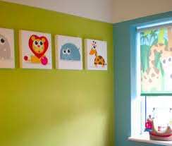 Canvas Design Ideas these vector illustrations from istockphoto transformed a little boys room on itvs 60 minute makeover programme we made a set of 5 small canvases and a