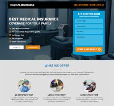 create your professional and converting life insurance website template design to promote your life insurance business