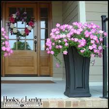 artificial flowers for outside pots tall outdoor planters patio garden in planter inspirations artificial flowers pots