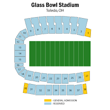 University Of Illinois Football Seating Chart Glass Bowl Stadium Toledo Tickets Schedule Seating
