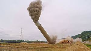 Image result for chimney destruction pics