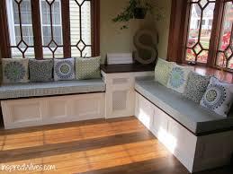 Living Room Bench Storage Corner Storage Table Remarkable Corner Nook Table Set With