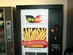 Ore Ida French Fry Vending Machine