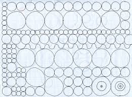 patterns to draw on graph paper how to draw almost perfect circles and spheres