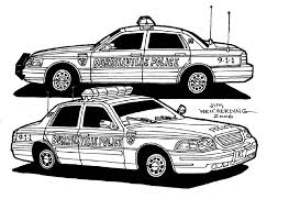 Adult Police Car Coloring Pages Cool Police Car Coloring Pages