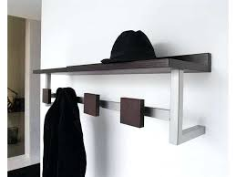 Coat And Hat Rack With Shelf Wall Mounted Hat Rack Home Rack With Hat Shelf Coat Rack With Shelf 36