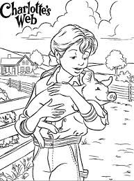 Small Picture Charlottes Web Coloring Pages Classroom Pinterest Charlottes