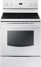 stove samsung. samsung - 5.9 cu. ft. freestanding electric range white front_zoom stove