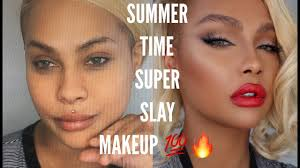 summer super slay all day makeup tutorial sonjdradeluxe