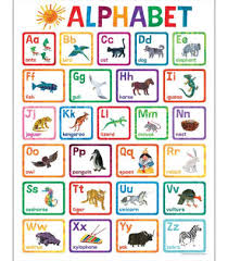 Alphabet Chart With Pictures World Of Eric Carle Alphabet Chart Other Format