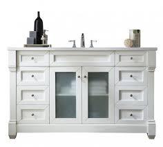single sink white bathroom vanity. 60 inch single sink bathroom vanity cottage white finish with solid top m