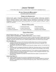 operations resume samples operations resume examples