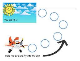 Path Behavior Chart Airplane To Sky