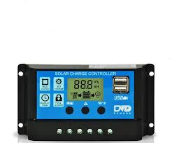 Smart Solar Charge Controller <b>12V 24V 10A 20A 30A</b> Automatic ...