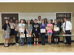 burkholder ms students dominate we the people essay contest tuesday