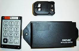genie garage door opener accessory universal wired keypad