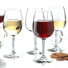 libbey glasses set wine party glass beer