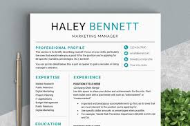 Editable Resume Template Ms Word Resume Templates Creative Market