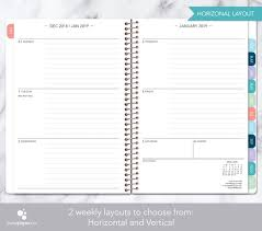 Ready To Ship 2019 Planners Weekly Planners Etsy