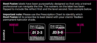 Redken Color Fusion Chart 2017 Root Fusion Personalized Root Retouch Color