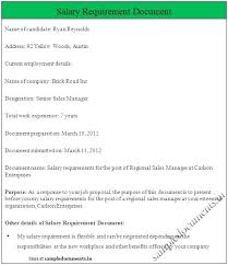 14 Salary History Resumes Lettering Site