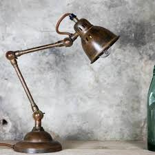 vintage style desk lamp. Plain Desk Brass Vintage Style Desk Lamp  Allissias Attic U0026 French 1 To N