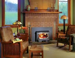 efficient wood fireplace with great range of placement wood burning insertwood